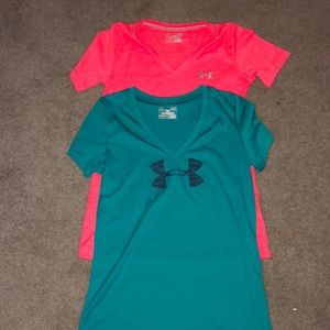 Two work out shirts